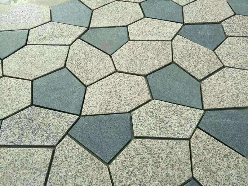 冰裂纹青石板材
